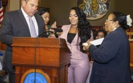 Abogada dominicana de Bánica jura como jueza municipal de Newark, New Jersey