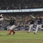 Ruta de la celebración de los Medias Rojas de Boston, campeones de la Serie Mundial 2018