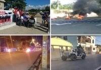 Paro laboral en región Norte (Cibao) inicia militarizada y con haitiano asesinado por la policía; Vídeos