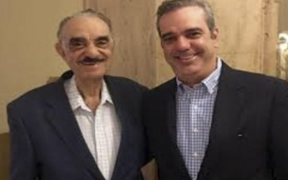Empresario, político y exsenador José Rafael Abinader, padre de Luis Abinader fue sepultado hoy