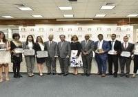 Banco Central entregó premios a ganadores del 32° Concurso Anual de Economía