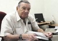 Restos del historiador Emilio Cordero Michel serán expuestos hoy hasta las 7:00 y cremados