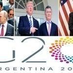 Argentina: Trump, en Cumbre G20 se reunirá con el dictador Xi Jinping, con Putin y en Casa Rosada con Macri