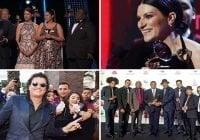Ganadores de la XIX edición de los Latin Grammy