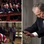 """George W. Bush: Mi padre podrá descansar junto """"al amor de su vida"""", su esposa Barbara Bush"""