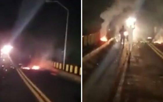 Haitianos impiden paso por puente que conecta La Altagracia (Higüey) y El Seibo en la RD; Vídeo
