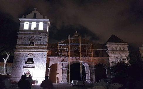 Expertos españoles aseguran rescate de la Iglesia de Santa Bárbara será exitosa