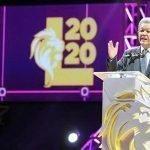 Leonel Fernández dice esperar el 2019 con optimismo y mucha fe en Dios
