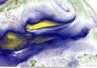 Onamet pronostica lluvias dispersas a moderadas; Mantiene restricciones para las costas