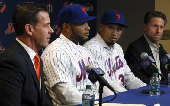 Los Mets de Nueva York presentaron a Edwin Díaz y a Robinson Canó