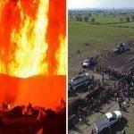 Sube a 89 muertos en explosión por huachicoleo (robo de combustible) en México; Vídeo