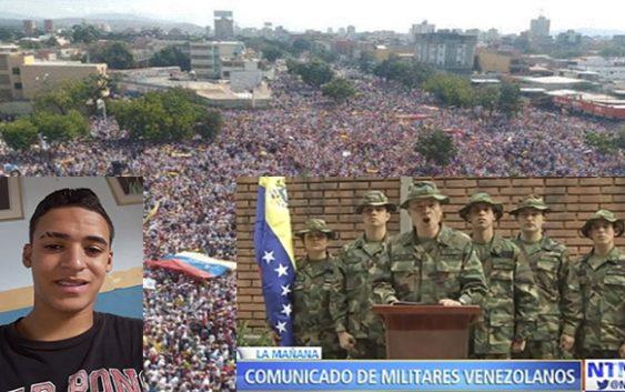 Venezuela en las calles; Guaidó presidente; General Milano Mendoza, advierte a Maduro no permitirá comunismo; Vídeos