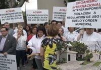 Bella Vista protesta contra abusos del Alto Comisionado de las Naciones Unidas para los Refugiados