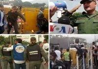 Cinco miembros de la Guardia Nacional Bolivariana, desertan y apoyan al presidente Juan Guaidó; Vídeos