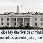 Reino Unido y USA advierten sobre altos niveles de criminalidad en la RD (Décima)