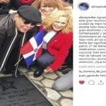 Fernando Villalona recibió con orgullo estrella en el West New York el día de la independencia