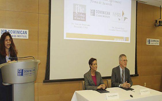Instituto Nacional de Migración y el CUNY Dominican Studies Institute acuerdan estudiar migración