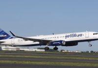 Avión de JetBlue regresó una hora después al AILA por desperfecto hidráulico