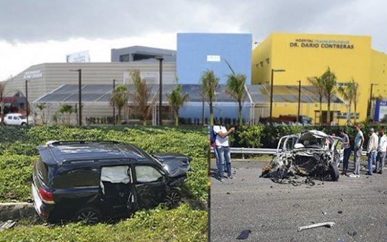 Hospital Darío Contreras informa estado de diputada Karen Ricardo y familia tras sufrir accidente; Muere policía