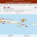 Temblor de 5.8 grados expulsa a miles de dominicanos de edificios