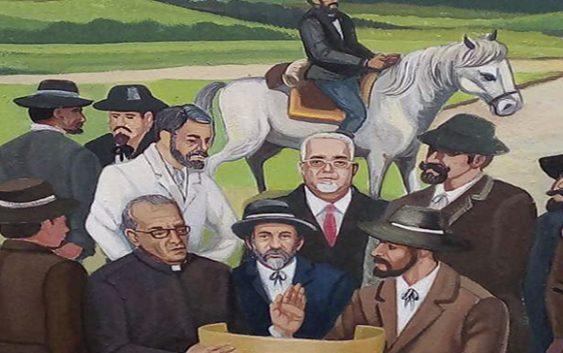¡Reculó el hombre! Alcalde de Baní ordena restaurar mural histórico en que aparecía