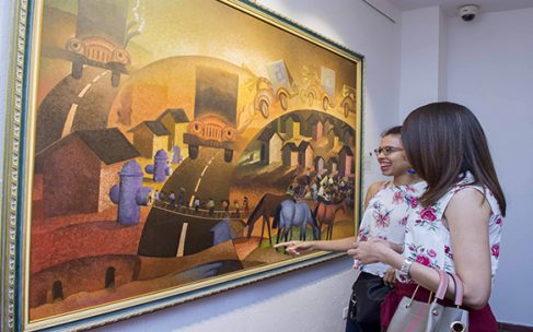 Centro Cultural BanReservas inaugura exposición artística de Pedernales