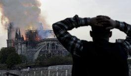 Franceses bajo shock por incendio afectó la catedral de Notre Dame; Vídeo