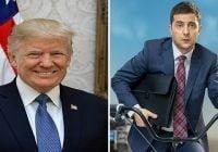 Trump considera momento importante victoria comediante Zelenskiy en Ucrania; Lo insta erradicar corrupción