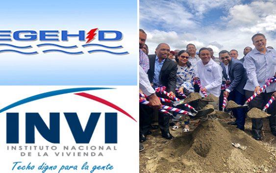 Egehid y el INVI inician construcción de 80 apartamentos en Yaguate