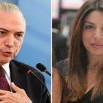 Justicia de Brasil acusa de lavado a Michel Temer, su hija, João y a Fratezi