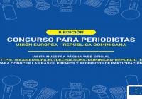 La Unión Europea lanza II edición de concurso periodístico