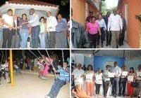 Alcaldía de Santo Domingo Este entrega varias obras