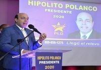 Hipólito Polanco presentó su candidatura a la presidencia de la República; Vídeo