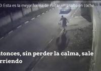Forma de evitar que le atraquen desde un vehículo de cuatro ruedas; Vídeo