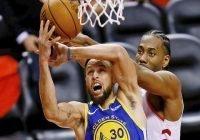 Por la minima Golden State forza al sexto juego frente a Toronto Raptors; Vídeo