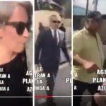 Grupo Vicini se presenta con contingente militar a apoderarse de Agua Planeta Azul; Vídeo
