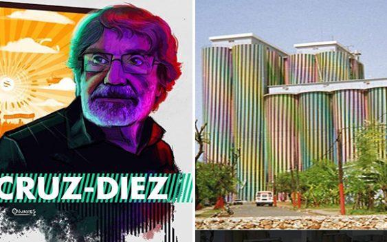 Se fué Carlos Eduardo Cruz-Diez sin resarcirle el crimen de haber borrado su obra de Molinos