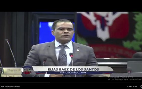 Diputado Elías Báez denuncia procurador apresó empresario para evitar ganara licitación; Vídeo
