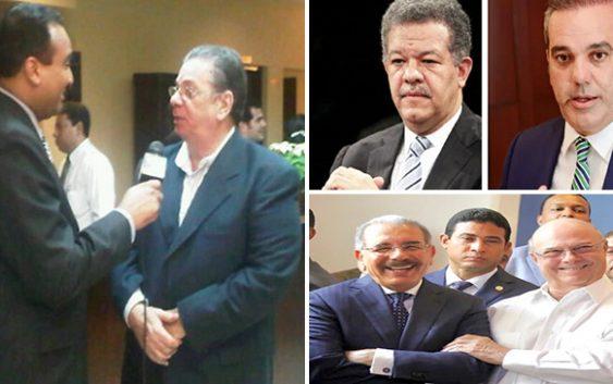 Hugo Beras fustiga a los vendedores de maricones y a Abinader, Danilo, Hipólito y Leonel; Audio