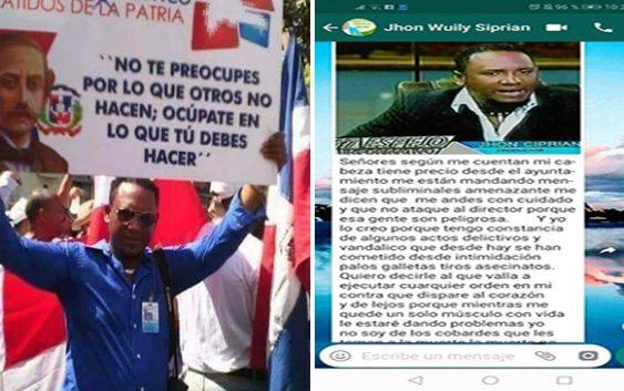 """Corrupción: """"Señores según me cuentan mi cabeza tiene precio"""" días antes de ser asesinado; Vídeo"""