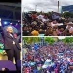 Danilo, líder del presupuesto del Estado; Leonel, líder del Partido de la Liberación Dominicana; Vídeos
