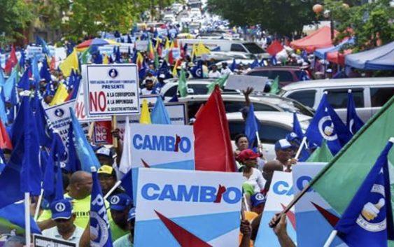 Marcha de Coalición Democrática por la Regeneración Nacional deja claro hastío por corrupción; Vídeo