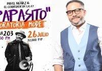 Pavel Núñez en concierto para los padres