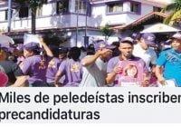 Son miles de delincuentes que inscriben candidatura (Décima)