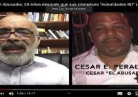 Ángel Martínez: «Que Dios nos agarre confesao, porque este show esta mal montao»; «César el Abusador»; Vídeo