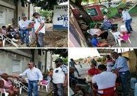 Pedro Abad, candidato a senador por el Partido Revolucionario Dominicano realiza recorrido