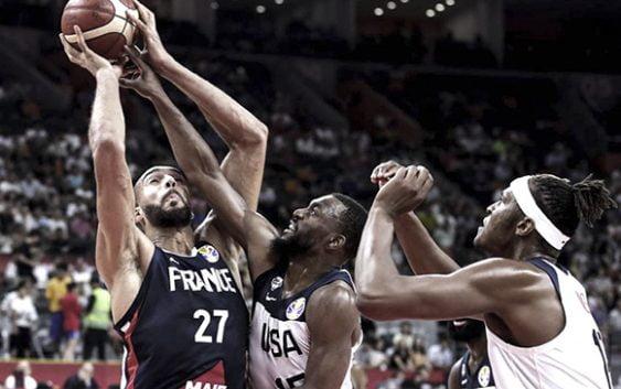 A pesar de los estelares de la NBA Francia elimina a los Estados Unidos del Mundial de Básket