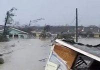 Huracán Dorian deja cinco muertos y daña miles de autos y 13 mil viviendas en Bahamas; Vídeos