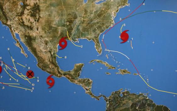 El NHC informa sobre Humberto, Lorena, Ten e Imelda que podría afectar a la RD, PR y Bahamas como huracán