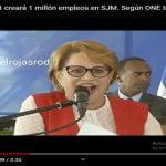 Según ONE SJM tiene 232,333 habitantes; Lucía medina dice que el 911 creará 1 millón de empleos; Vídeo